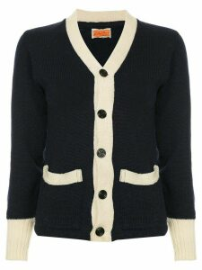 Fake Alpha Vintage 1950's knit cardigan - Blue