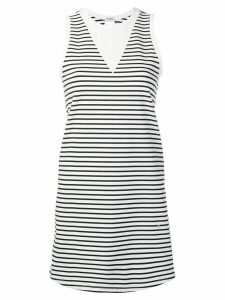 Chanel Pre-Owned 2006 striped long top - White