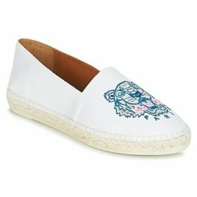 Kenzo  CLASSIC ESPADRILLES TIGER  women's Espadrilles / Casual Shoes in White