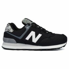 New Balance  WL574ASB  women's Shoes (Trainers) in Black