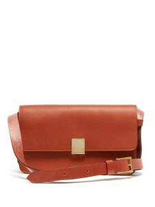 Ferian - Rye Leather Shoulder Bag - Womens - Tan