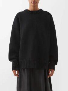 Three Graces London - Tatyana Gathered Silk Satin Maxi Dress - Womens - Dark Green