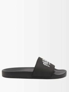Zimmermann - Corsage Ruched Linen-blend Mini Dress - Womens - Black White