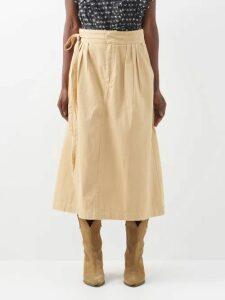 Matteau - The Long Sleeve Sun Tee Swim Top - Womens - Dark Green