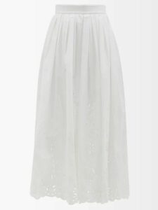 Hillier Bartley - Ruched Silk-satin Blouse - Womens - Red