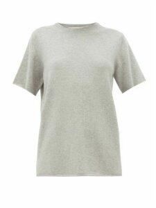 Extreme Cashmere - No. 64 Stretch-cashmere T-shirt - Womens - Grey