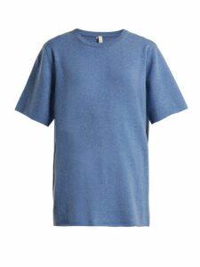 Extreme Cashmere - No.64 Cashmere Blend T Shirt - Womens - Blue