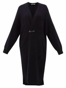 Extreme Cashmere - No. 61 Koto Long-line Stretch-cashmere Cardigan - Womens - Navy