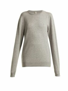 Extreme Cashmere - No.36 Classic Stretch-cashmere Sweater - Womens - Grey