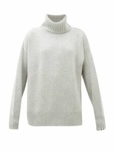 Extreme Cashmere - No.20 Oversized Stretch Cashmere Roll Neck Sweater - Womens - Grey