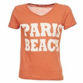 Bensimon  MAXINE  women's T shirt in Orange