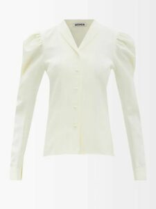 Isabel Marant - Soya Draped Mini Dress - Womens - Black