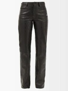 Chloé - High Neck Ruffled Silk Blouse - Womens - Black