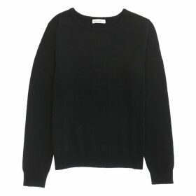 IGGY & BURT - Black Cashmere Blend Crew Neck Jumper