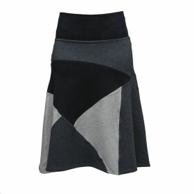 Zalinah White - Alexa Suedette Pencil Skirt In Tan