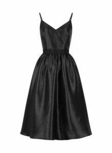 Womens Little Mistress Black Glitter Prom Dress, Black
