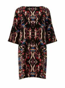 Womens Vero Moda Multi All Over Print Dress - Multi Colour, Multi Colour