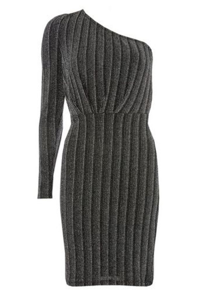 Womens **Vero Moda Multi Colour One Shoulder Bodycon Dress- Multi Colour, Multi Colour
