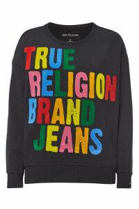 True Religion Cotton Sweatshirt with Logo