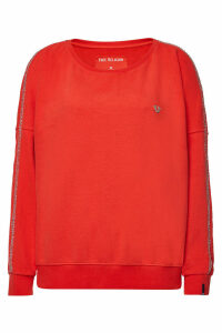 True Religion Bejeweled Cotton Sweatshirt