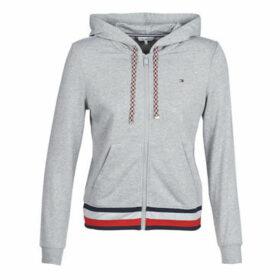 Tommy Hilfiger  HILARY ZIP HOODIE  women's Sweatshirt in Grey