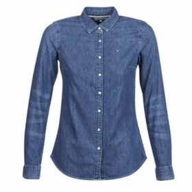 Tommy Hilfiger  ETTA SHIRT LS  women's Shirt in Blue