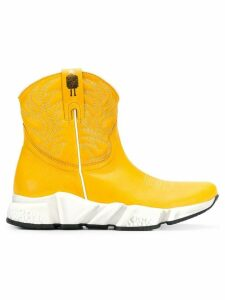 Texas Robot ankle boots - Yellow