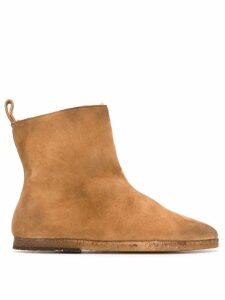 Marsèll almond toe boots - Brown