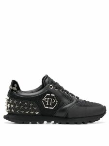 Philipp Plein Wayne runner sneakers - Black
