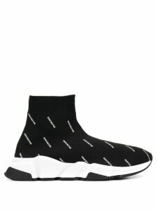 Balenciaga Tess sock hi-top sneakers - Black
