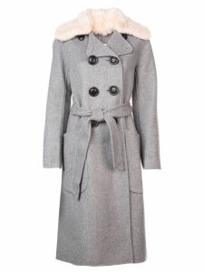 Coach luxury wool trench coat - Grey
