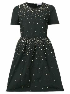 Red Valentino faux-pearl embellished dress - Blue