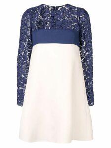 Valentino lace crepe dress - Blue