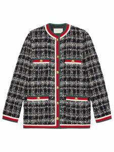 Gucci Tweed Jacket - Black