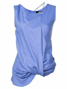 Jacquemus Dhubia draped top - PURPLE