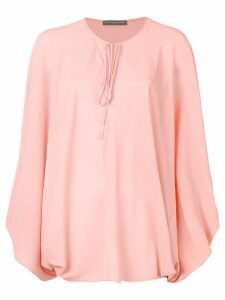 Alexander McQueen oversized blouse - PINK