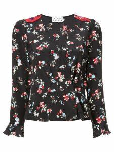 Tanya Taylor floral-print top - Black