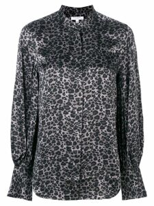 Equipment leopard print blouse - Grey
