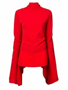 Paula Knorr high neck top - Red
