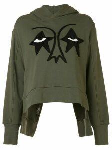 Haculla Stareyez print hoodie - Green