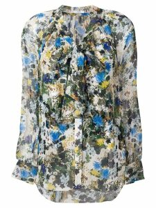 Erdem floral print shirt - White