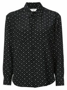 Saint Laurent heart print shirt - Black
