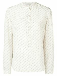 Stella McCartney logo printed shirt - White