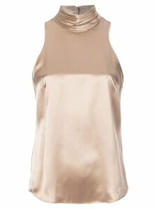 Cinq A Sept halterneck top - GOLD