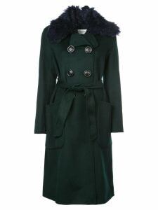 Coach luxury wool trench coat - Black