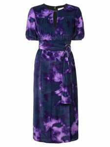 Altuzarra belted dress - Purple