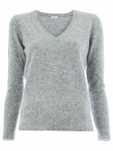 Maison Ullens V-neck sweater - Grey