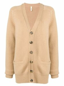 Extreme Cashmere v-neck cardigan - Brown