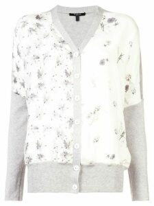 Derek Lam floral print cardigan - White