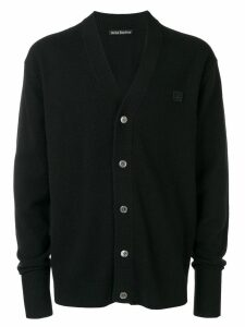 Acne Studios Neve Face cardigan - Black